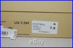 Michael Kors Womens Olympia Trainer Wedge Dad Sneaker Shoe Black Brown 7.5 $160