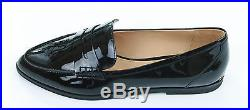 Michael Kors Womens Plum Patent Leather Connor Loafers Shoes Size UK 5, EU 38.5