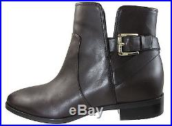 Michael Kors Womens Salem Bootie Pull On Strap Buckle Ankle Boots