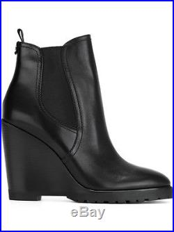 Michael Kors Womens Thea Wedge Pull On Stretch Platforms Booties Ankle Boots NEW