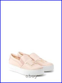 Michael Kors Womens Trent Slip On Fashion Sneakers Shoes Pink 10 NEW IN BOX