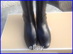Michael Kors long black boots size 7