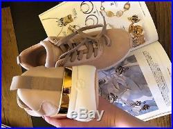 Michael Kors new sneakers genuine leather suede 37 UK4 UK4.5
