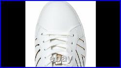 Michael KorsUK 7/EU 40/US 9KETONA V WHITE GOLD MK LOGO TRAINERS SHOES
