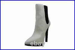 Michael Michael Kors Women's Shoes Brielle Bootie, Optical White, Size 8.0