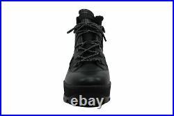Michael Michael Kors Women's Shoes Brooke Bootie Almond Toe, Black, Size 6.5