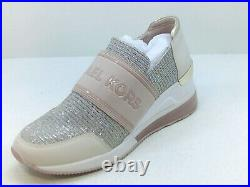 Michael Michael Kors Women's Shoes Fashion Sneakers, Beige, Size 7.5 vCh6