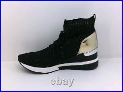 Michael Michael Kors Women's Shoes Fashion Sneakers, Black, Size 9.0