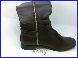 Michael Michael Kors Women's Shoes Preston Leather Closed Toe, Barolo, Size 11.0