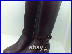 Michael Michael Kors Women's Shoes Preston boot Leather Closed, Barolo, Size 7.0