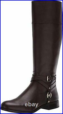 Michael Michael Kors Women's Shoes Preston boot Leather Closed, Barolo, Size 8.0