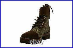 Michael Michael Kors Women's Shoes Tatum Almond Toe Ankle Fashion, Tan, Size 7.0
