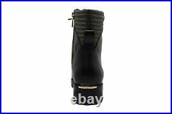 Michael Michael Kors Women's Shoes bastian ankle boot Leather, Black, Size 10.0