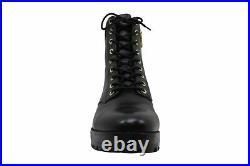 Michael Michael Kors Women's Shoes bastian ankle boot Leather, Black, Size 8.0 2