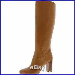 Michael Michael Kors Womens Walker Leather Knee-High Boots, Acorn, Size 11.0 HqL