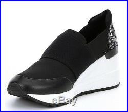 Michael Michael Kors neo trainer Low Top Slip On, Black, Kids 5, Ladies 7-7.5