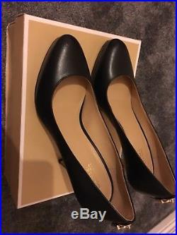 Michael kors Antoinette Leather Pump Stiletto Size 38