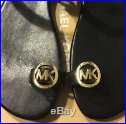 Michael kors Nora Toe Thong flip flop sandals Size 7.5