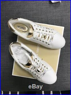 Michael kors Poppy Love Lace Up Sneakers UK 5.5 US 8 100% ORIGINAL
