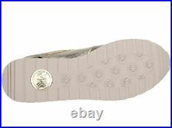NEW MICHAEL Michael Kors Billie Trainer Sneakers Casual Shoes Sport Gold SZ 7M