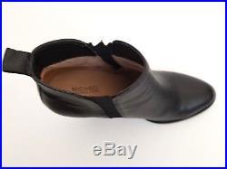 NEW MICHAEL Michael Kors Brandy Ankle Boots, Black Leather Women Size 7.5