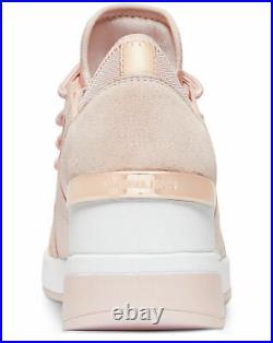NIB $145 Michael Kors Premium Liv Trainer Sneakers Shoes Soft Pink Sz 9.5