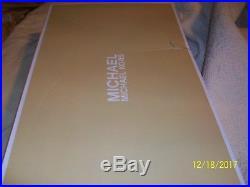 NIB MICHAEL KORS Bryce Black Leather Tall Riding Boots 40F5BYFB5L size 7 1/2 7.5