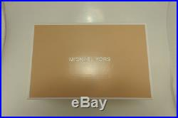 NIB MICHAEL by MICHAEL KORS 40F1MFMP28 MK MID-FLEX PUMP MERLOT SUEDE 6 FREE GIFT