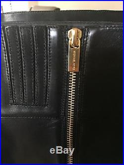NIB Michael Kors Bryce Size 8.5 Black Riding Tall Boots