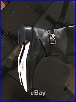 NIB Michael Kors Bryce Size 9 Black Riding Tall Boots