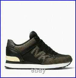 NIB- Michael Kors MK Maddy Logo Trainer Athletic Shoes (Choose Your Size)