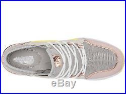 NIB Size 6 Michael Kors Women's Premium Liv Trainer Mesh Sneakers Shoes Aluminum