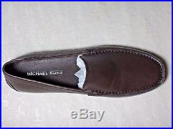NWB Michael Kors Mens William Leather Loafer Sz9.5, Brown