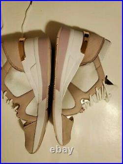 NWB Size 9.5 Michael Kors Premium Liv Trainer Sneakers Shoes Soft Pink