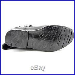 NWOB Women's Size 9-M Michael Kors Black Rubber Fulton Harness Rain Boots