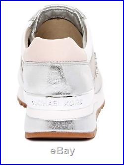 Neu Michael Kors Schuhe Damen Sneaker 43s7alfs6m Allie Wrap Trainer Beige Women
