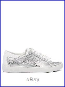 Neu Michael Kors Schuhe Damen Sneaker 43s7frfs1m Silber Silver Women