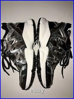 New MICHAEL KORS Rare Hero Trainer (Black/Silver) Womens Shoes Size 8