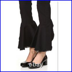 New MICHAEL KORS Size 7.5 PAULINE Black Patent Buckle Pumps Shoes 7 1/2