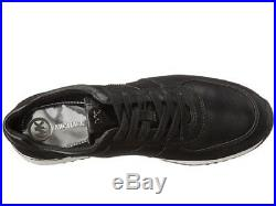 New Michael Kors Black Leather Allie Trainer Sneakers Shoes 8.5, 9, 9.5