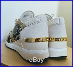 New Michael Kors LIV Trainer Mesh Lt Cream Sneakers, Size 11