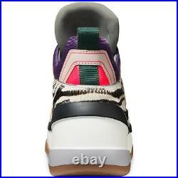 New Michael Kors MK Women's Olympia Trainer Scuba Sneaker Shoes Heather Grey