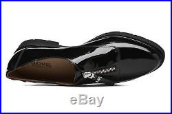 New Michael Kors Sz 8.5 Dawson Leather Black Loafer Flats Shoes