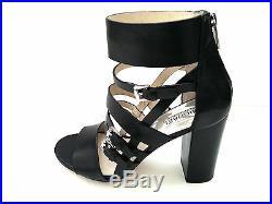 New Michael Kors Winston Women's Heel Leather Sandals Sz 8 M