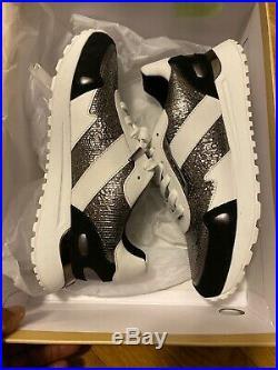 New Michael Kors Women's Monroe Trainer MK Animal Print Sneakers Shoes/ Gunmetal