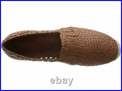 New Michael Kors Women's Toni Woven Espadrille Flat Shoes in Luggage, Size 7.5