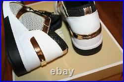 New Womens Michael Kors Sz 7 Shoes LIV Trainer Glitter Net Mesh