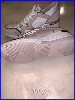 Nwt Michael Kors Soft Pink LIV Trainer Sneaker Shoes Sz 8