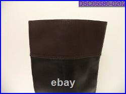 Size 8 Women Shoes Michael Kors Harland Riding Boot Black & Chocolate