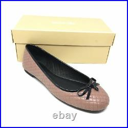 Women's NEW Michael Kors Melody Ballet Flats Shoes Size 8 M Pink Quilted T13